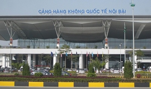 L'aéroport international de Noi Bai à Hanoi