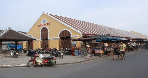 Le marché central de Hoi An