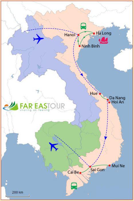 vacances vietnam 15 jours plage mui ne