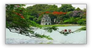 lac de Hoan Kiem, Hanoi - VOYAGE AU VIETNAM PAS CHER UNE SEMAINE