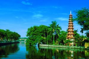 La pagode de Tran Quoc à Hanoi