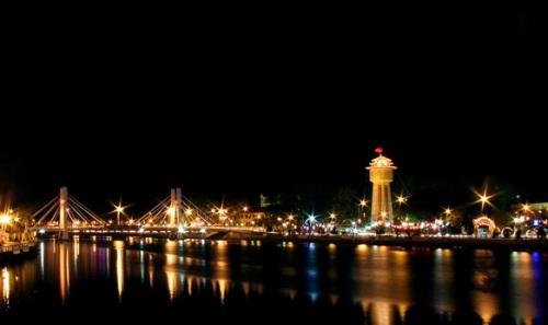 La vie nocturne à Mui Ne Phan Thiet, Vietnam