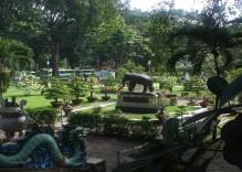 Jardins botanique et zoologique à Saigon
