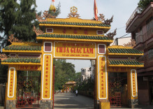La pagode de  Giac Lam à Saigon