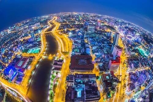 Saigon brillante